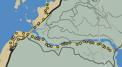 Up The Creek GTAO Race Map.png