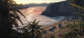 CayoPerico-GTAO-Trailer 1 Beach