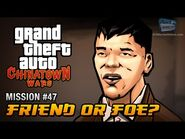 GTA Chinatown Wars - Mission -47 - Friend or Foe?