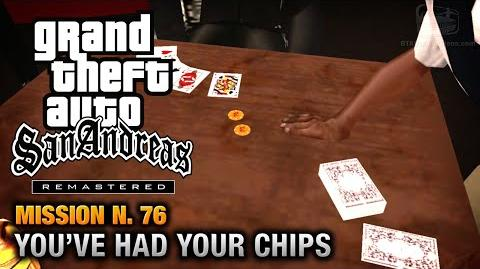 GTA San Andreas Remastered - Mission 76 - You've had your Chips (Xbox 360 PS3)