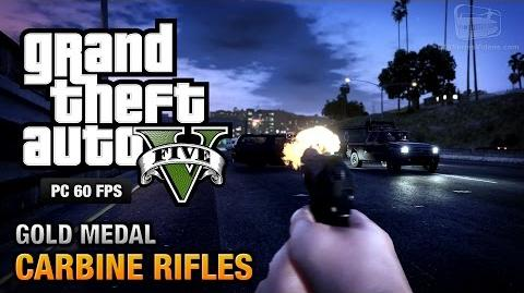 GTA 5 PC - Mission 12 - Carbine Rifles Gold Medal Guide - 1080p 60fps