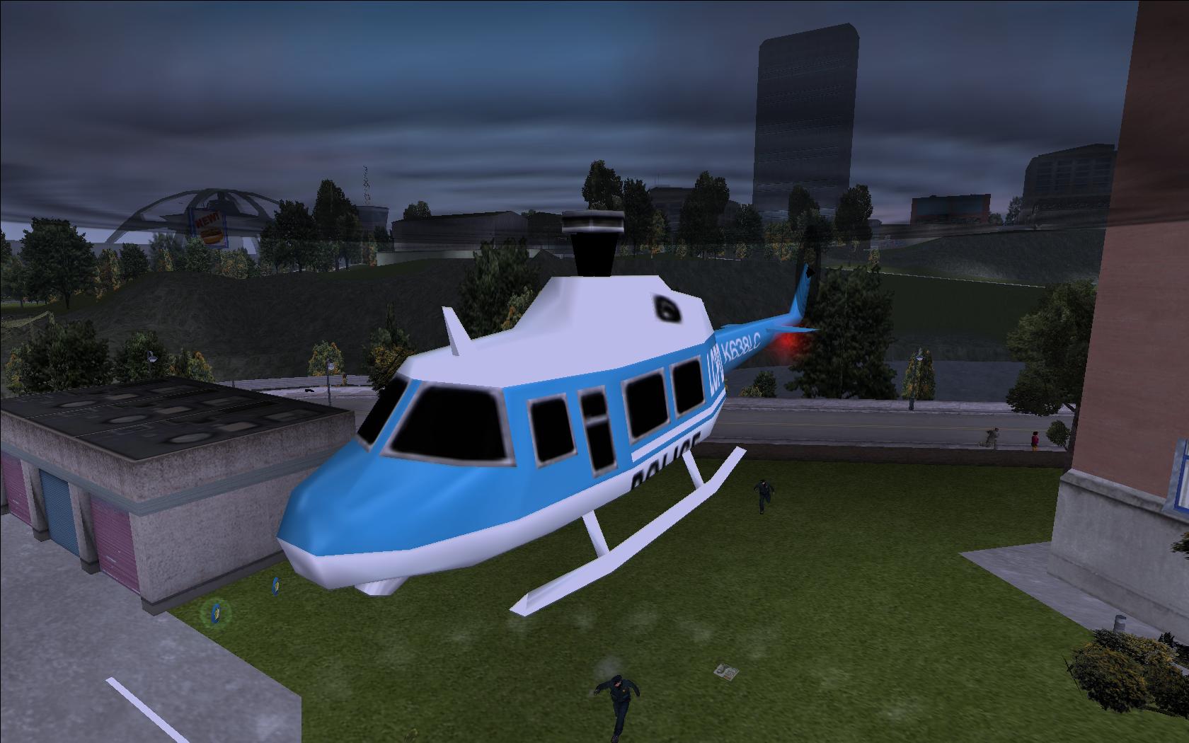 Police Helicopter (GTA III)