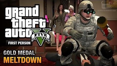 GTA 5 - Mission 71 - Meltdown First Person Gold Medal Guide - PS4