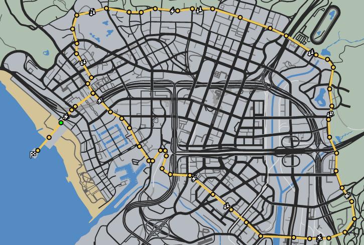 Pier To Pier GTAO Race Map.png