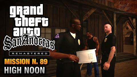 GTA San Andreas Remastered - Mission 89 - High Noon (Xbox 360 PS3)