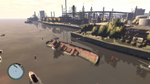 Wreck Tug3 GTAIV Wreckage from air
