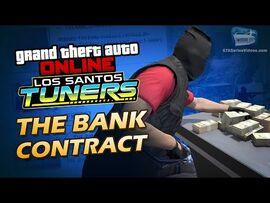GTA Online- Los Santos Tuners - The Bank Contract -Solo-