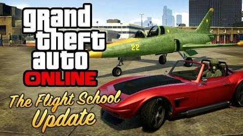 GTA Online - The Flight School Update All DLC Contents