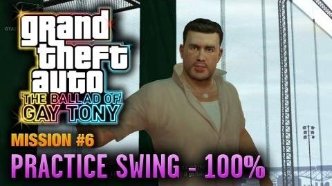 GTA_The_Ballad_of_Gay_Tony_-_Mission_6_-_Practice_Swing_100%_(1080p)