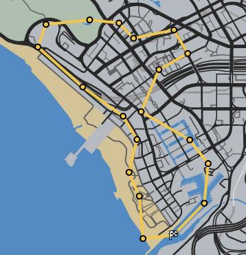 Grave Danger GTAO Race Map.png