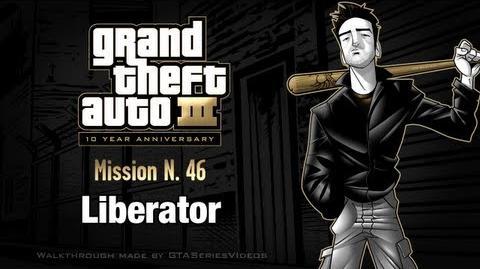 GTA 3 - iPad Walkthrough - Mission 46 - Liberator