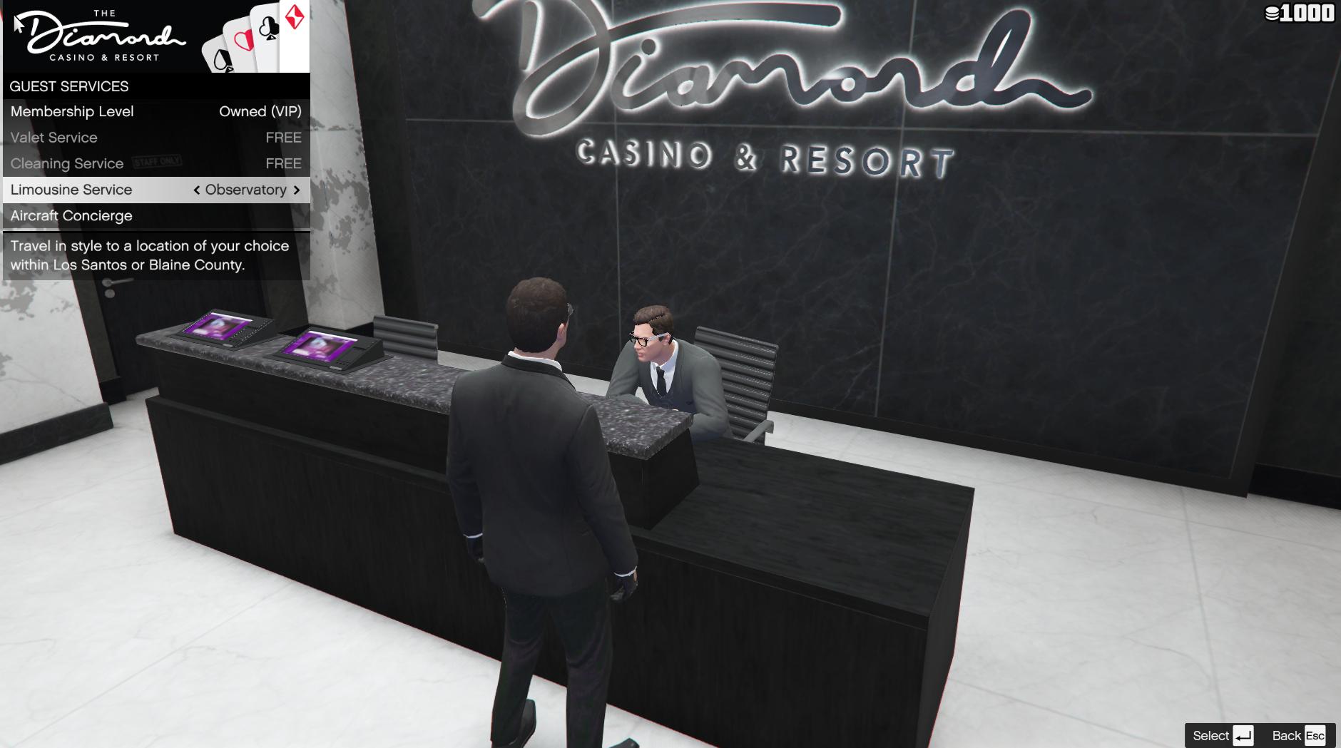 Casino Limousine Service