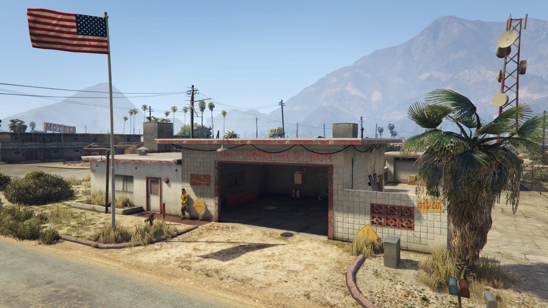 Sandy Shores Fire Station