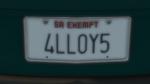 Custom Plate GTAO 4LLOY5