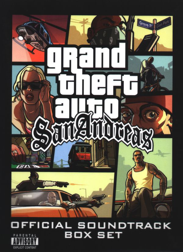 Grand Theft Auto: San Andreas: Official Soundtrack Box Set