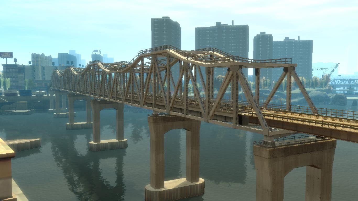 Northwood Heights Rail Bridge