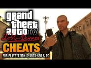 GTA- The Lost and Damned Cheats