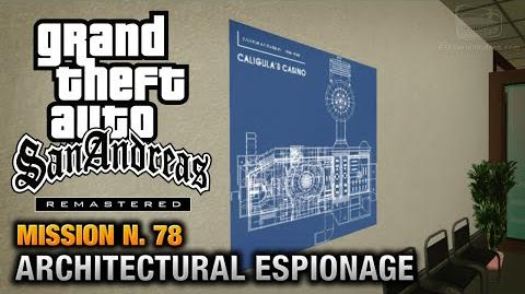 GTA San Andreas Remastered - Mission 78 - Architectural Espionage (Xbox 360 PS3)