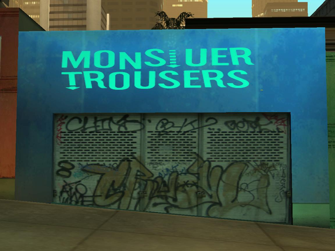 Monsiuer Trousers