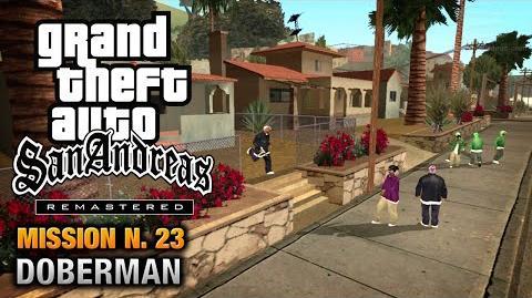 GTA San Andreas Remastered - Mission 23 - Doberman (Xbox 360 PS3)