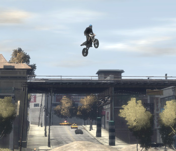 Stunt Jumps in GTA IV