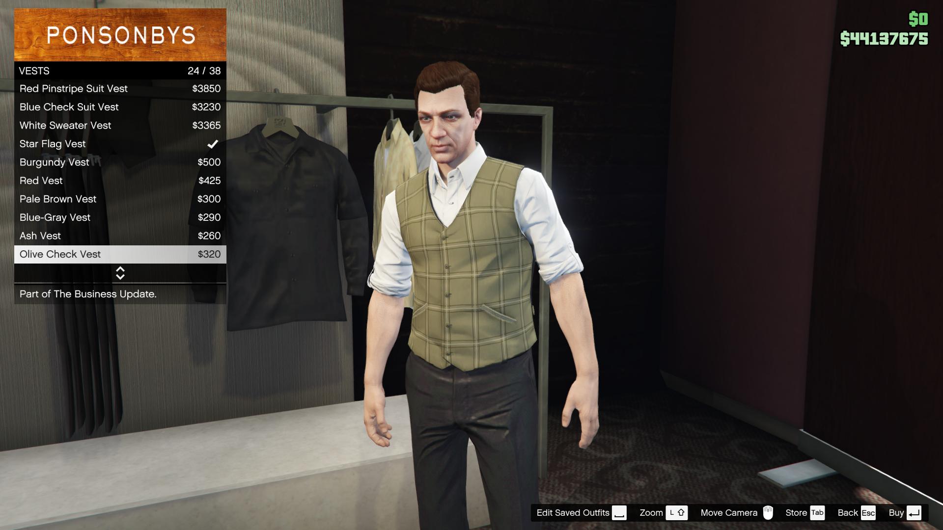 Business Update/Character Customization