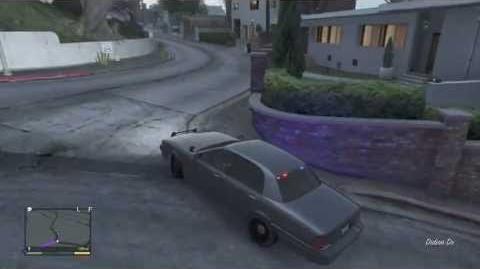 Gta5-Location Of Unmarked Crown Vic! (Police Cruiser)