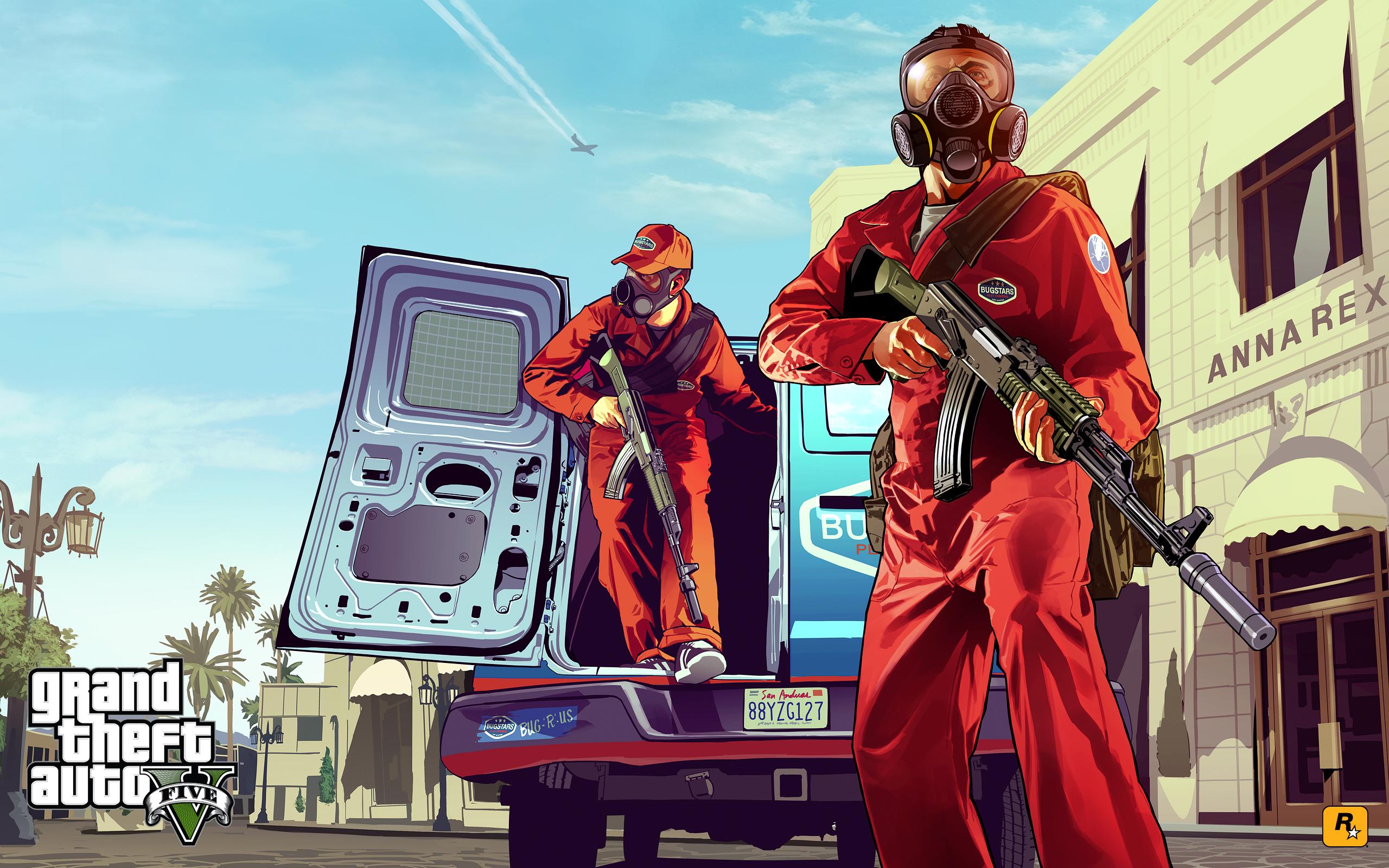 Artworks in GTA V