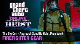 GTA Online The Diamond Casino Heist - Firefighter Gear The Big Con - Solo