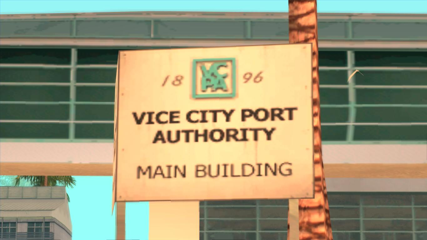 Vice City Port Authority Main Building