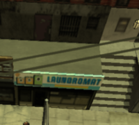 The laundromat in GTA Chinatown Wars.