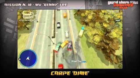 GTA Chinatown Wars - Walkthrough - Mission 18 - Carpe 'Dime'