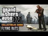 GTA 4 - Flying Rats Guide -Endangered Species Achievement - Trophy- (1080p)