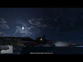 GTA 5 Online Cayo Perico Heist Prep Mission Patrol Boat (Merryweather HQ)