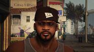 Franklin Wearing OG Cap