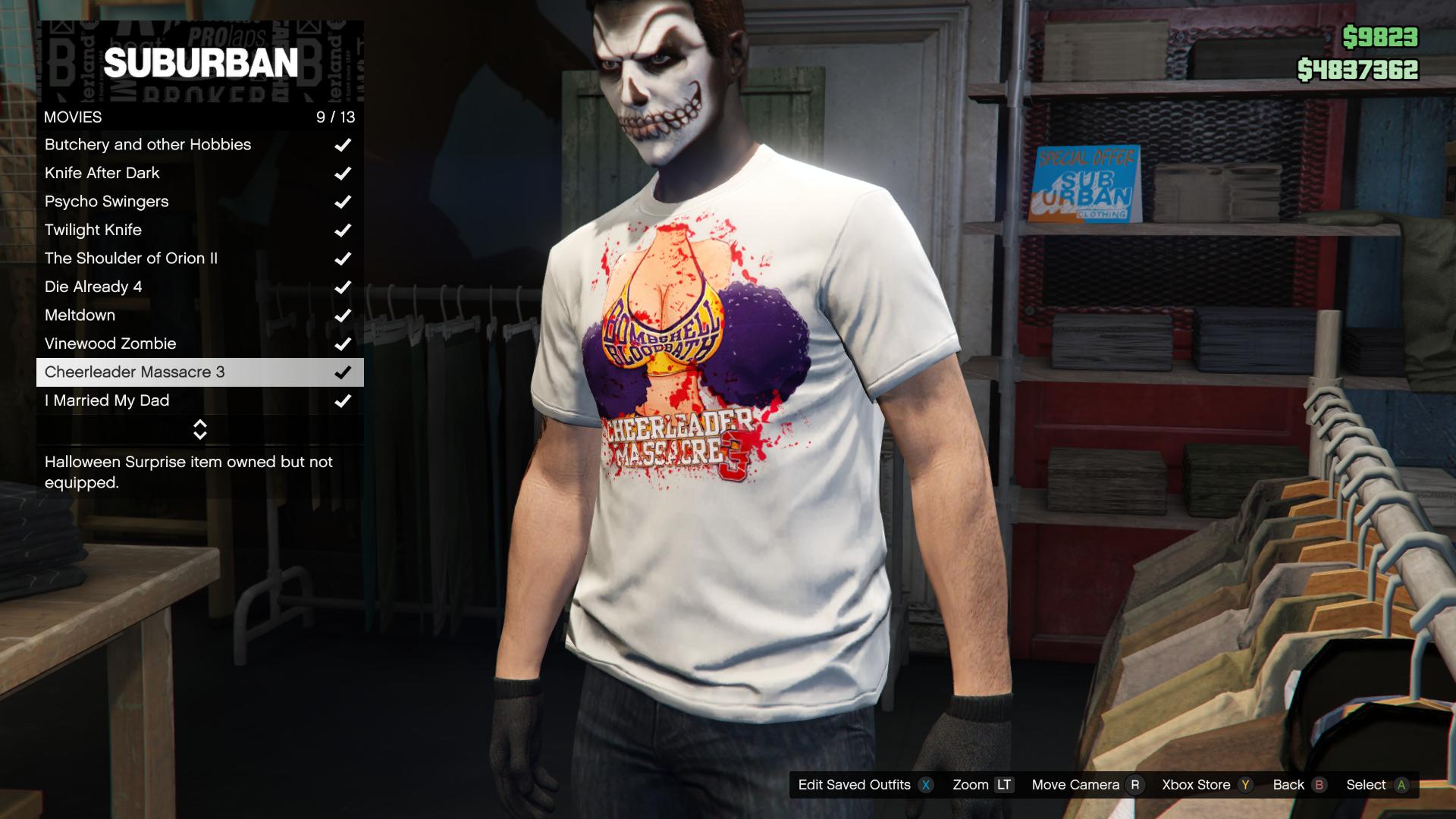 Cheerleader Massacre 3 T-Shirt