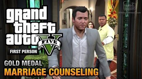 GTA 5 - Mission 6 - Marriage Counseling First Person Gold Medal Guide - PS4