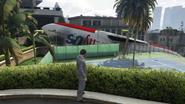 Jet GTAVe Post-mission Crash Rockford Hills