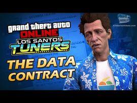 GTA Online- Los Santos Tuners - The Data Contract -Solo-