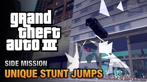GTA 3 - Unique Stunt Jumps