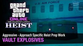 GTA Online The Diamond Casino Heist - Vault Explosives Aggressive - Solo