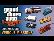 GTA Chinatown Wars - All Vehicle Missions (Paramedic, Fire Fighter, Noodle Run & More)