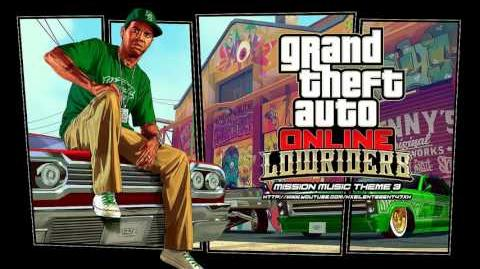 Grand Theft Auto GTA Online Lowriders - Mission Music Theme 3
