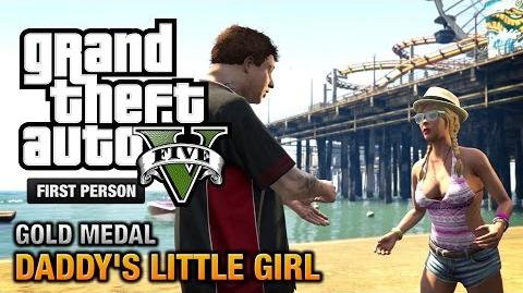 GTA 5 - Mission 7 - Daddy's Little Girl First Person Gold Medal Guide - PS4