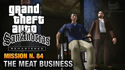 GTA San Andreas Remastered - Mission 84 - The Meat Business (Xbox 360 PS3)