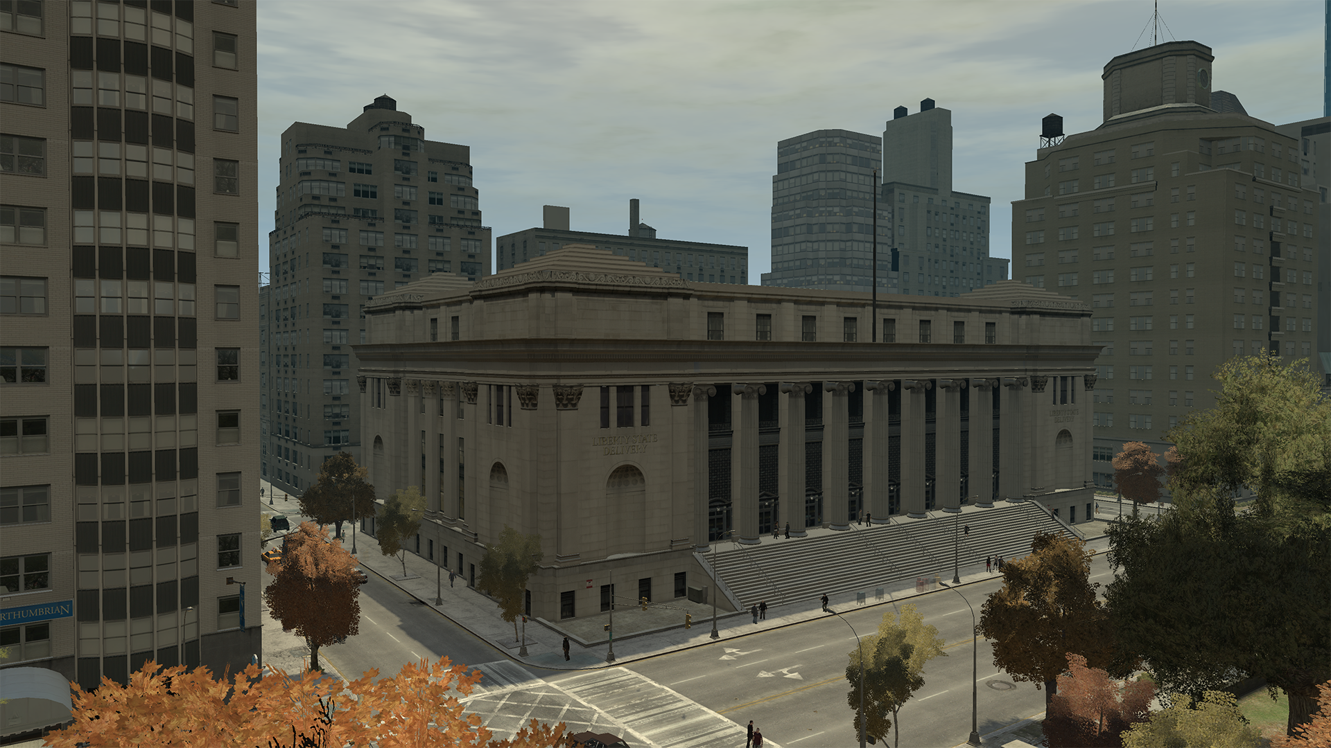 Liberty State Delivery Building