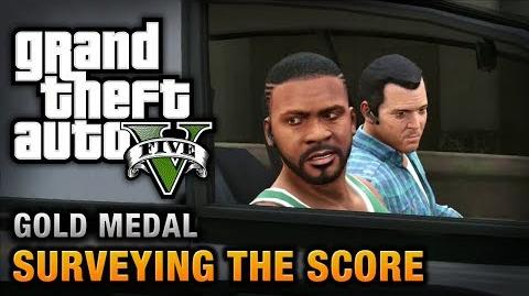 GTA 5 - Mission 56 - Surveying the Score 100% Gold Medal Walkthrough