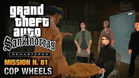 GTA San Andreas Remastered - Mission 81 - Cop Wheels (Xbox 360 PS3)