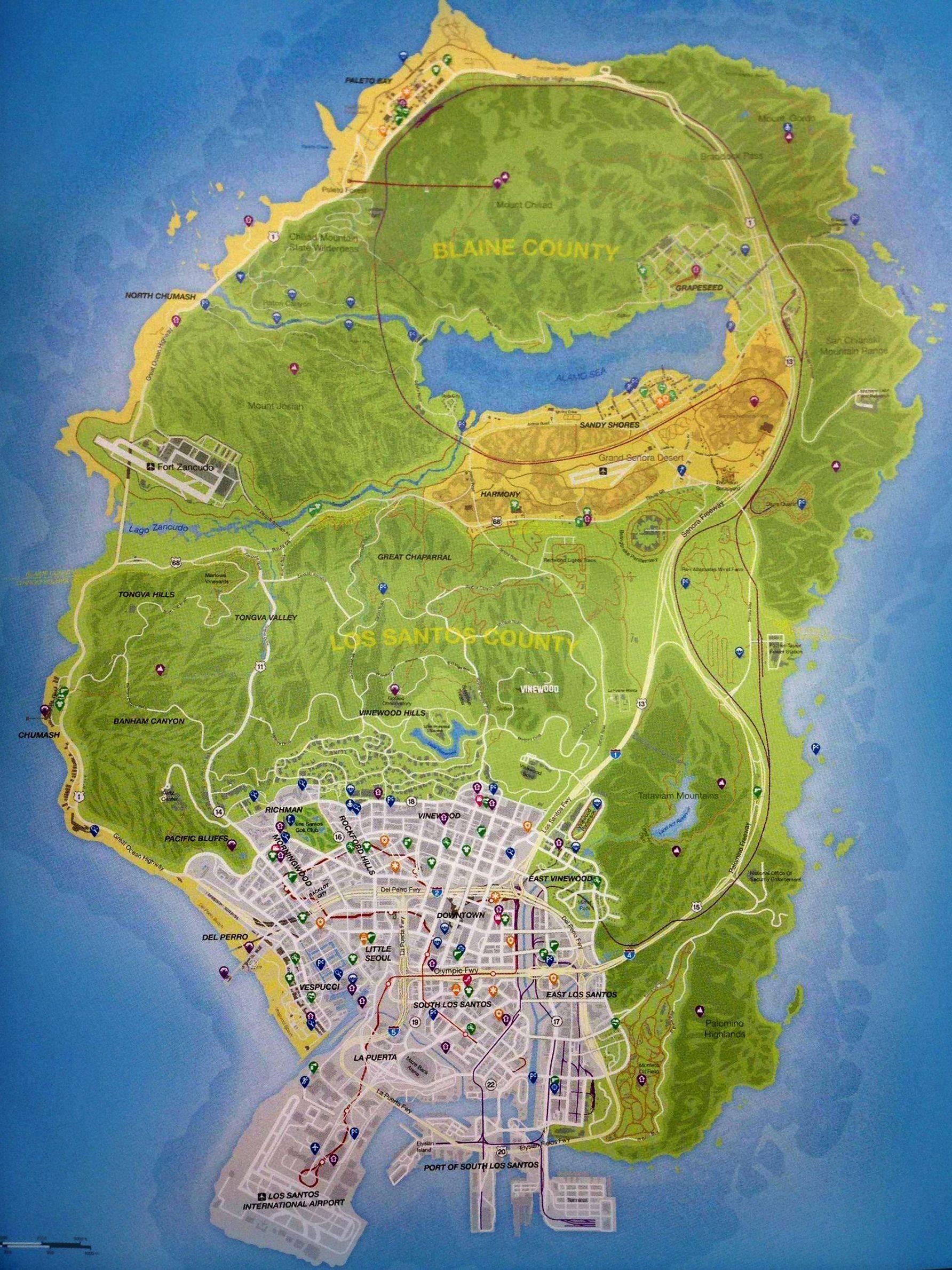 DeltaWolf247/GTA V Map Confirmed
