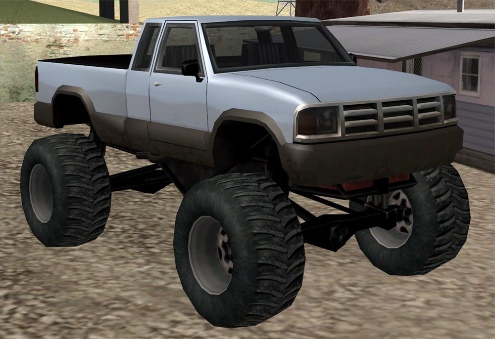 Monster Truck Gta Wiki Fandom